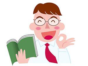 笑顔の塾講師