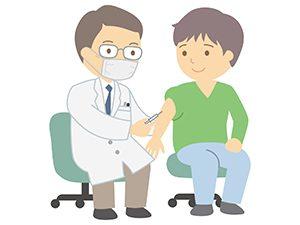 注射する医師