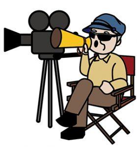 指示する映画監督