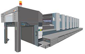 大型印刷機械