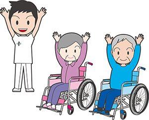 介護福祉士とお年寄り