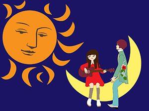 月と太陽と音楽