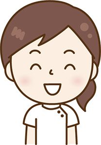 笑顔のセラピスト