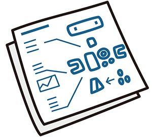 紙の設計図
