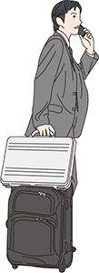 スーツケースの税理士