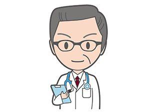 メガネかけた医者