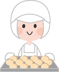 パンを作るひと