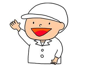 白衣の衛生士