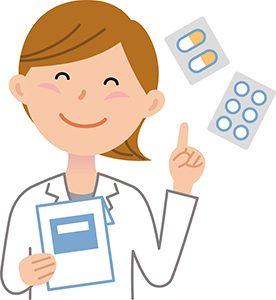 笑顔の薬剤師